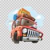 Cartoon Truck 08069