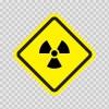 Radiation Area Sign 08984