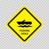 Fishing Area Sign 09019