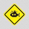 Submarine Area Sign 09029