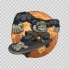Skateboard Ape Fighter 09167