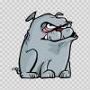 Dog Bulldog 09542