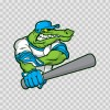 Gator Baseball Player 10392