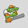 Gator Baseball Player 10394
