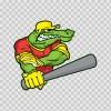 Gator Baseball Player 10396