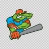 Gator Baseball Player 10398