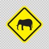 Wild Animals Area Sign 10665
