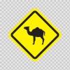 Wild Animals Area Sign 10667