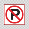 Square Sign No Parking 11209