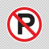 No Parking Sign 11210