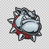 Angry Bulldog Head 11304