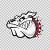 Beware Of Attack Dog Bulldog 11315