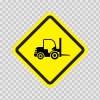Forklift Area Sign 11359