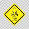 Yoga Area Sign 11521