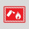 Fire Extinguisher Sign 11713
