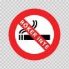 No Smoking Sign Roker Inte 11821
