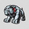 Angry Bulldog Growling 11899