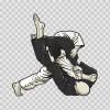 Wrestling Scene 12367