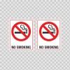 No Smoking 12408