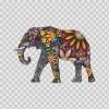 Colorful Elephant Traditional Art 12834