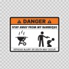 Danger Funny Stay Away From My Barbeque 13507