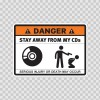 Danger Funny Stay Away From My Cds 13508