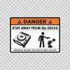 Danger Funny Stay Away From Djs Decks 13514