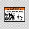 Danger Funny Do Not Disturb The Dj 13554