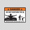 Danger Funny Do Not Disturb The Dj 13555