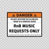 Danger Funny Do Not Disturb The Dj Unless There Is A Serious Issue 13565