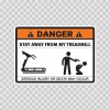 Danger Funny Stay Away From My Treadmill 13571