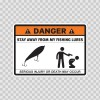 Danger Funny Stay Away From My Fishing Lures 13581