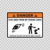 Danger Funny Stay Away From My Fishing Lures 13586