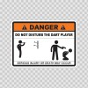 Danger Funny Do Not Disturb The Dart Player 13600