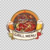 Grill Menu Sign 13803
