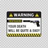 Warning Trespasser Sign 14043
