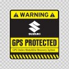 Gps Protected Prevention Sign Suzuki 14072