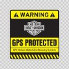 Gps Protected Prevention Sign Kawasaki 14073