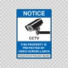 Notice This Property Is Protected By Video Surveillance 14137