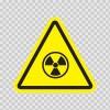 Ionizing Radiation Hazard Symbol 14256