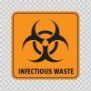 Biohazard Infectious Waste 14394