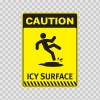 Caution Icy Surface  14426