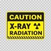 Caution X-Ray Radiation  14435