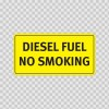 Diesel Fuel No Smoking 19141