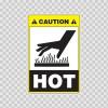 Caution Hot 19418