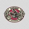 California Motorcycle Chopper Legend Racing Riding Wheels 22424